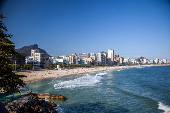 BARRA DE TIJUCA, RIO DE JANEIRO, BRASIL en temporada baja